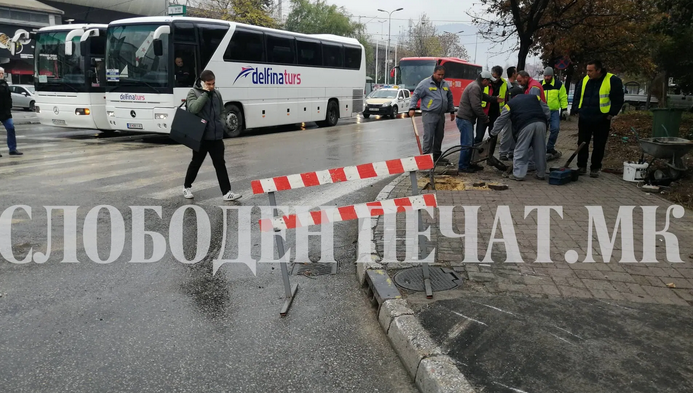 Тешка сообраќајна несреќа: Се судрија две возила, има и потешко повредени