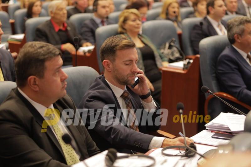 Димовски:  Зошто законот за ЈО се носи по скратена постапка кога ќе има одложена примена