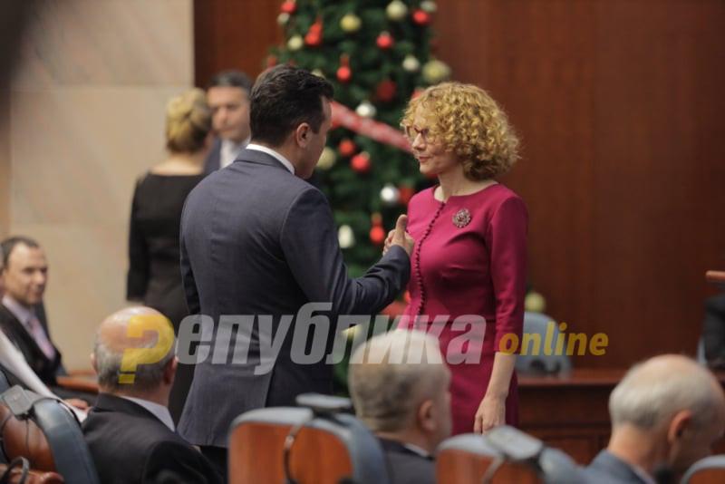 Шекеринска е убедена дека идниот премиер ќе биде Заев