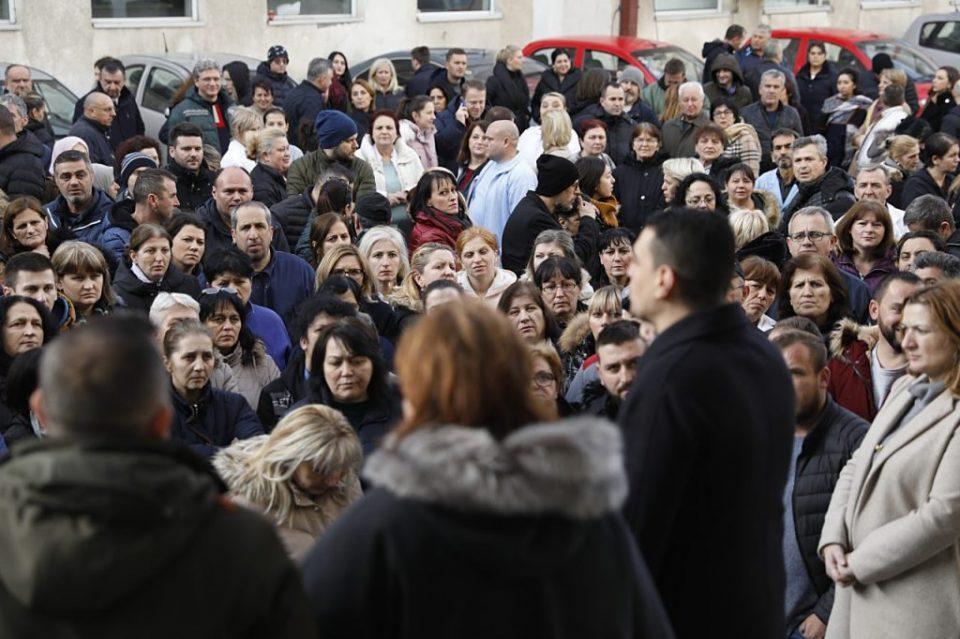 Штрајкува администрацијата во здравството, бараат 10 отсто повисока плата