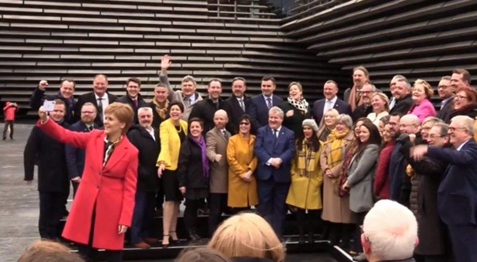 Шкотска бара независност