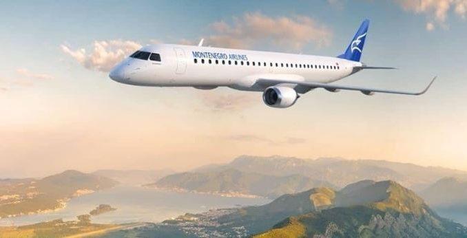 Црногорски бизнисмени се степале во авион