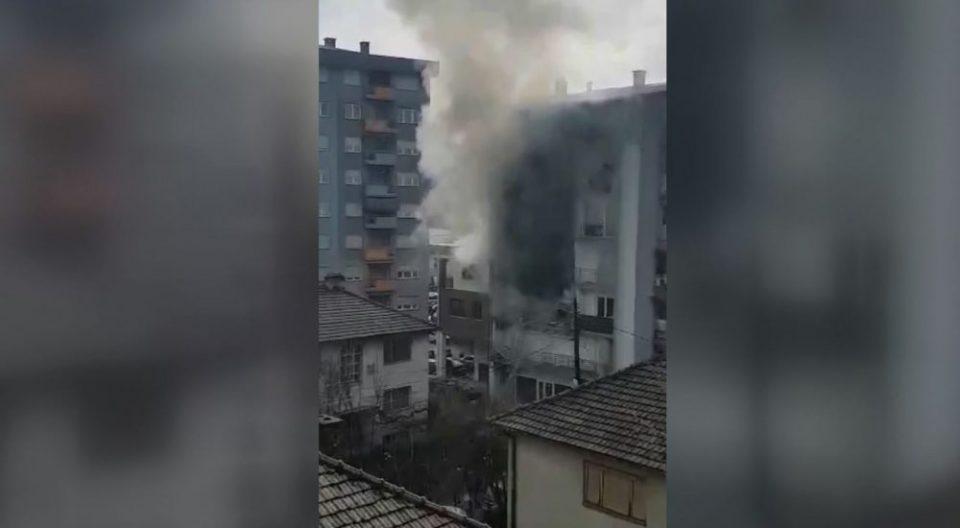 Експлозија на плинска боца во Тетово, 24-годишник се здобил со изгореници од четврти степен