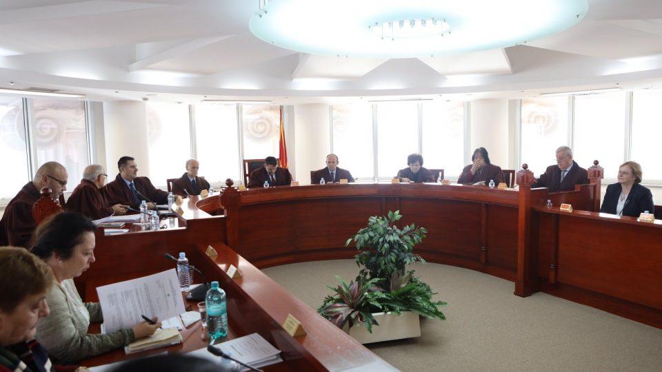 Уставен суд ја разгледува можноста за снимање на своите седници