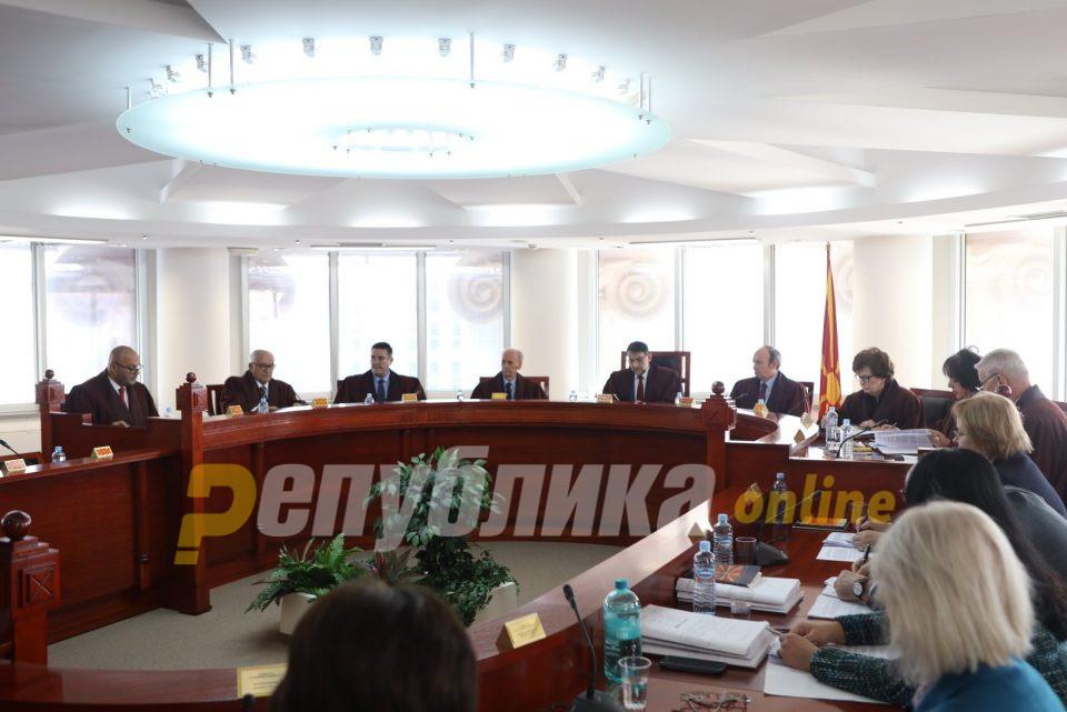 Уставен ќе ја разгледува законитоста на член 163 од Законот за банки
