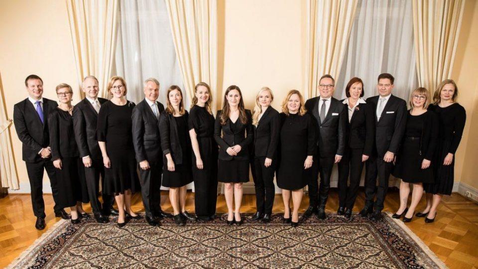 Во Владата на Финска има 12 жени и 7 мажи