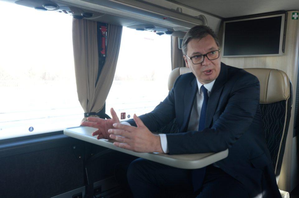 Вучиќ: Прв ќе ја примам руската вакцина