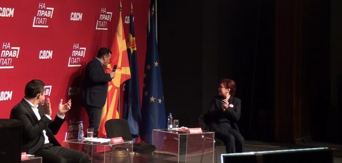Јанушев: Ти Заев имаш најмалку право да кажеш дека поради тебе гордо се вее македонското знаме