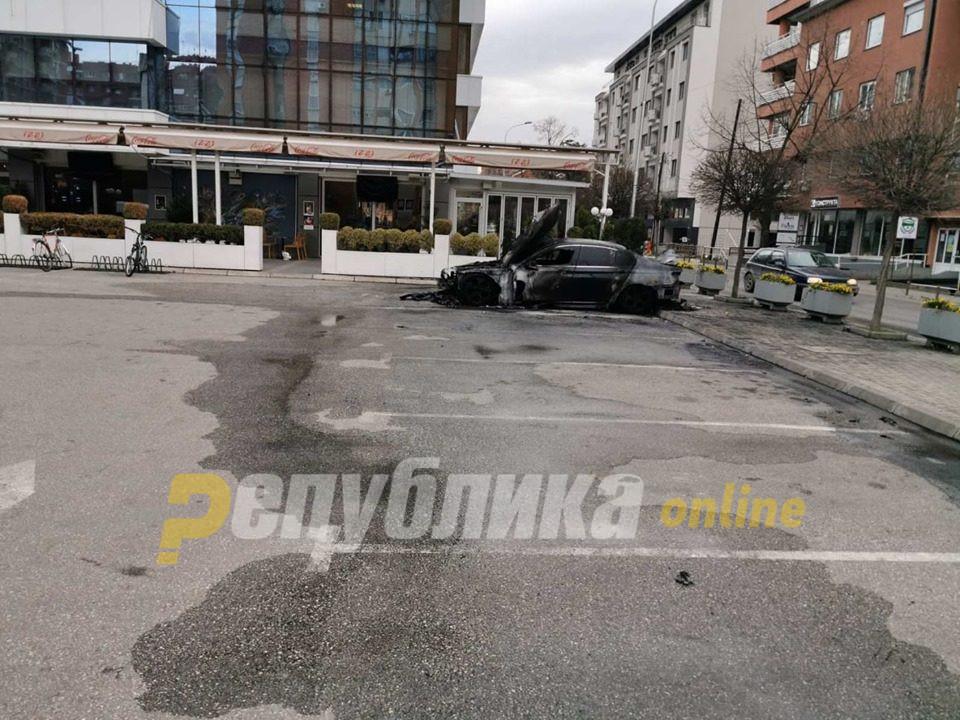 Роднина на премиерот во заминување Зоран Заев е сопственик на запаленото БМВ