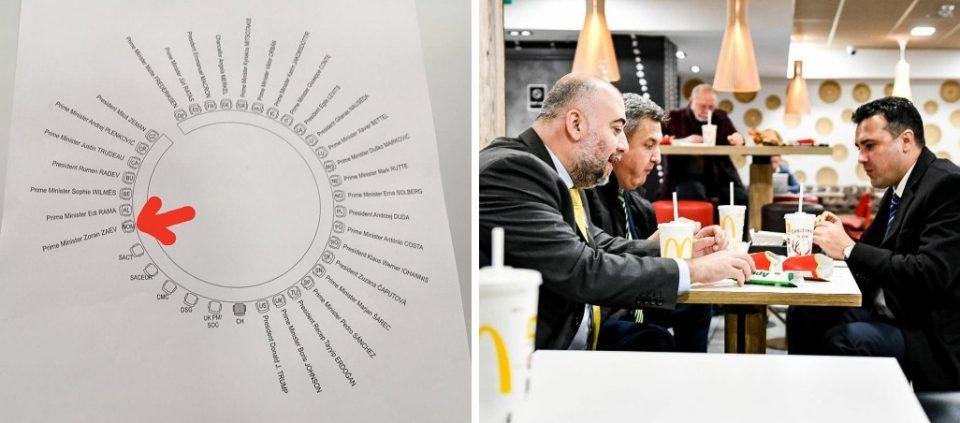 Идентитетот бетон: Македонија во Лондон е под кратенката НОМ