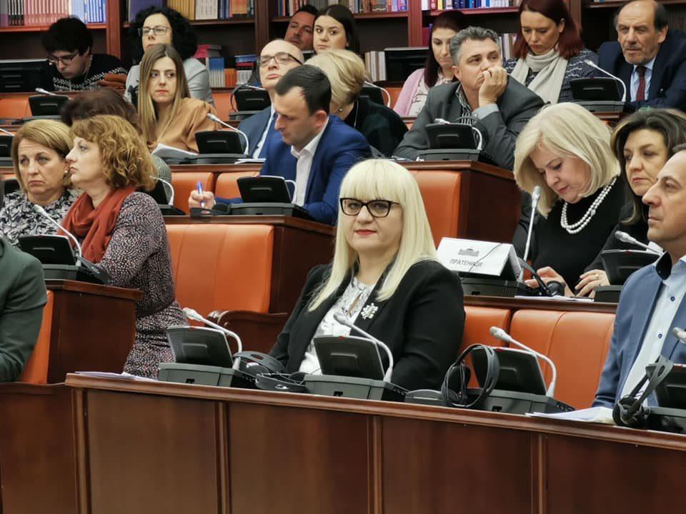 Дескоска го повика ВМРО-ДПМНЕ да подготват амадмани за законот за ЈО