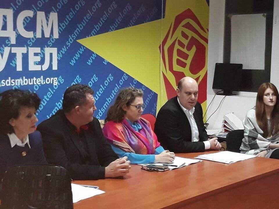 Стоилковски до Костадинов: Сега јавно да прашаш што бара Славјанка Петровска на партиски состаноци на СДСМ