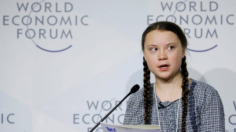 Грета Тунберг од Давос порача: Ништо не е сторено за климата