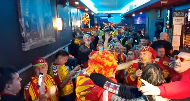 """На половина час пред мечот: Во Виена ечи """"Македонијо ти си Бисер Балкански"""""""