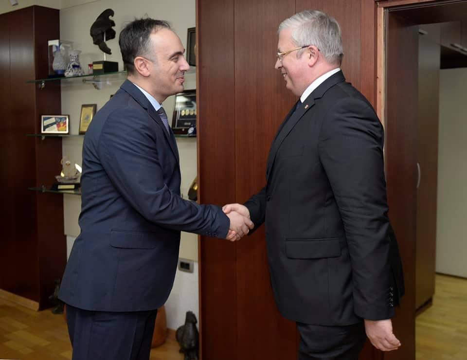 Чулев на средба со амбасадорот на Руската Федерација Баздникин