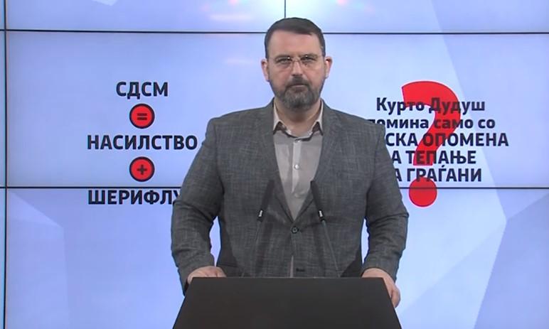 Стоилковски го прашува Заев: Како се пишуваат шест милиони евра, нели ти е срам?