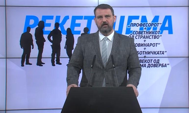 """Стоилковски: Случајот """"Рекет 3"""" експлодира во рацете на Заев и Филипче пред избори"""