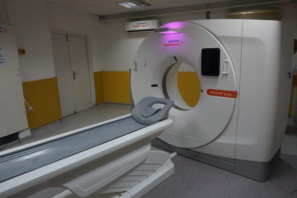 Нов апарат за компјутеризирана томографија на Институтот за радиологија
