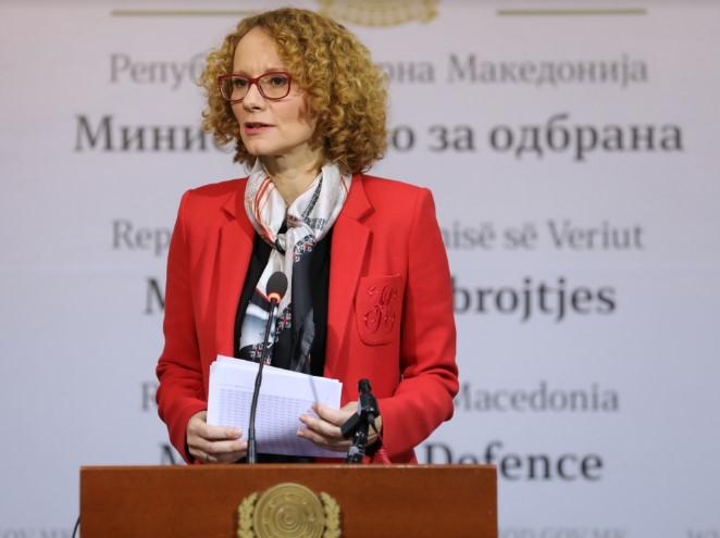 Шекеринска е убедена дека изборите ќе бидат како 30-та членка на НАТО