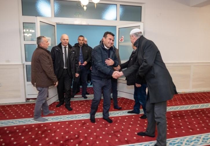 Заев: Жителите на Чегране со нетрпение очекуваат државата да стане членка на НАТО и ЕУ