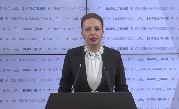 Пешевска: Се обврзувам за повеќе жени кандидатки за градоначалнички, носителки на советничките листи и кандидати за советнички од ВМРО-ДПМНЕ