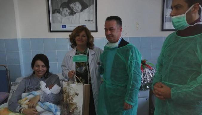 Првото бебе родено годинава во Штип е машко