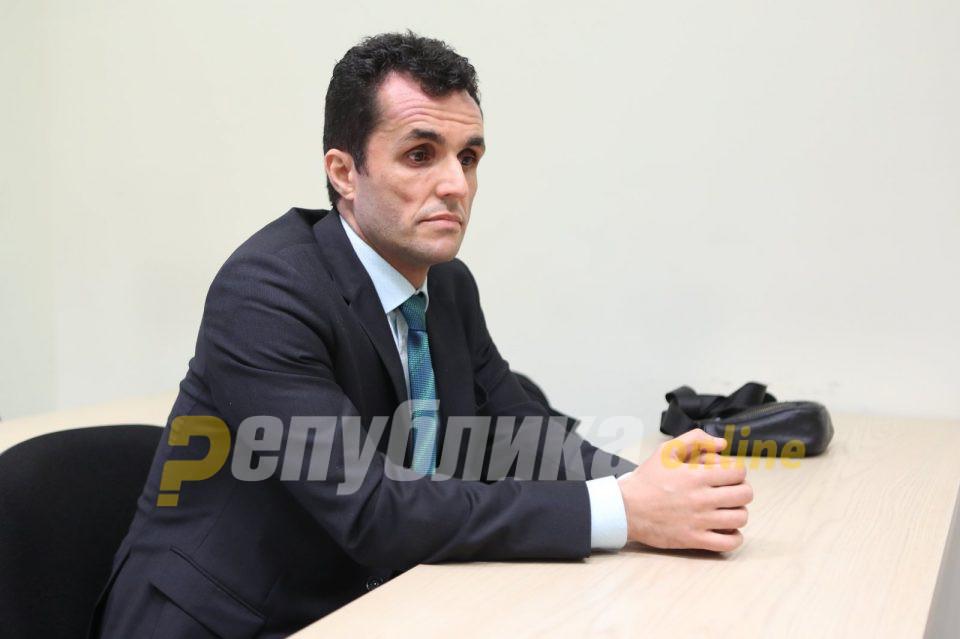 """Не се откажува: Адвокатот Даути ќе бара Јавниот обвинител да го изземе Рустеми од случајот """"ТНТ"""""""