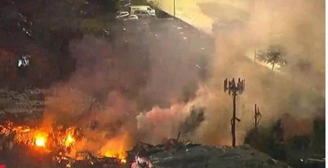 Силна експлозија во Хјустон, цел град на нозе