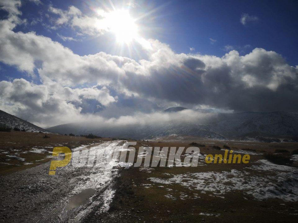 Магла и слаб снег на неколку патни правци