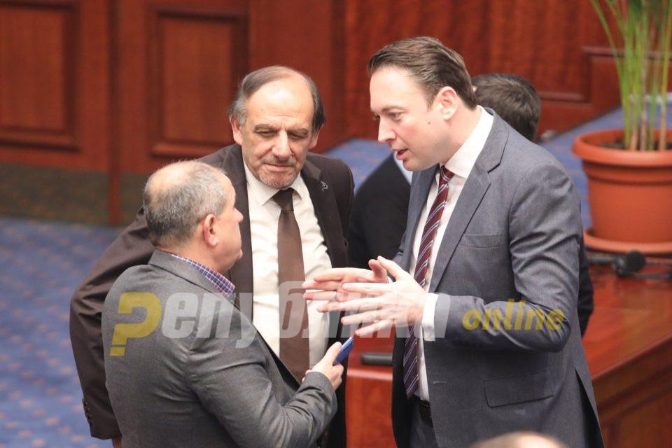Ако сакаат нека си се земат, ние на таква свадба не одиме – порачува Горан Милевски, коалициониот партнер на Заев