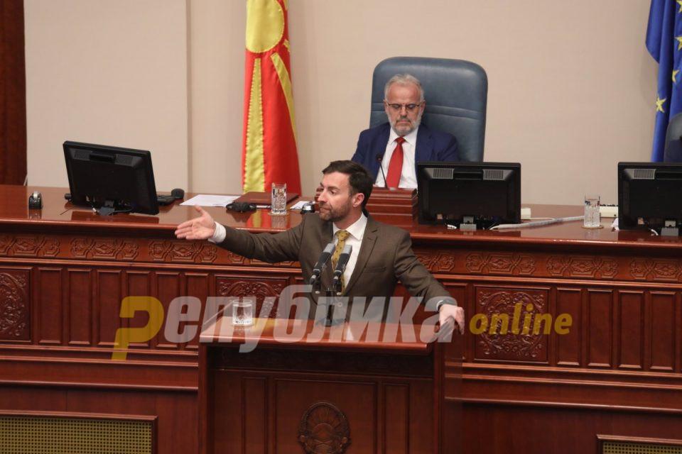 Адеми: До кај дојде ВМРО-ДПМНЕ една Еврејка да ја брани македонштината, Димовски: До кај стигнаа командандите на ДУИ, да ве рекетира Боки 13
