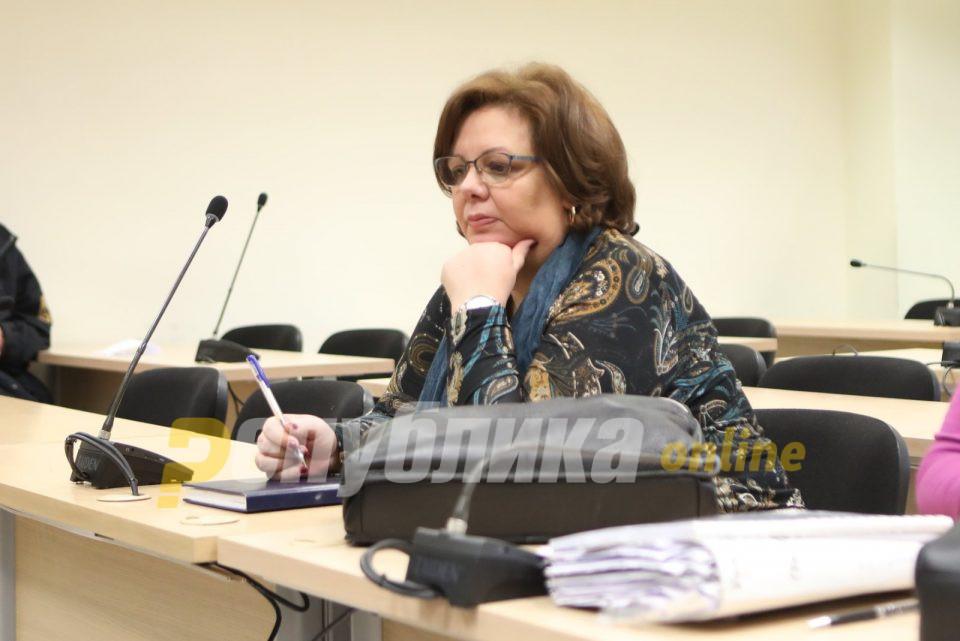 Катица Јанева се соблече гола во Завод за ревизија