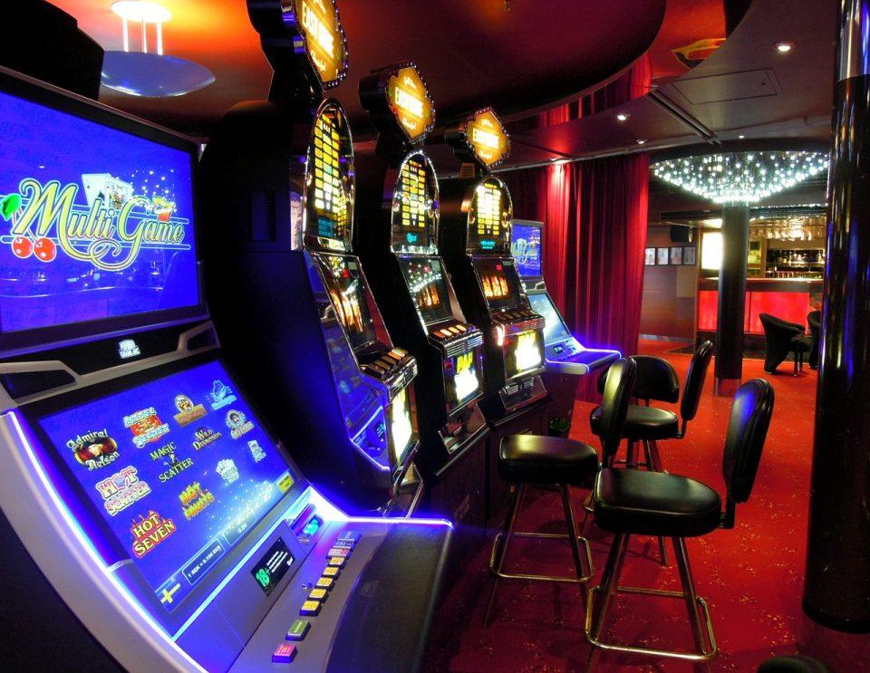 Тепачка пред казино во Скопје