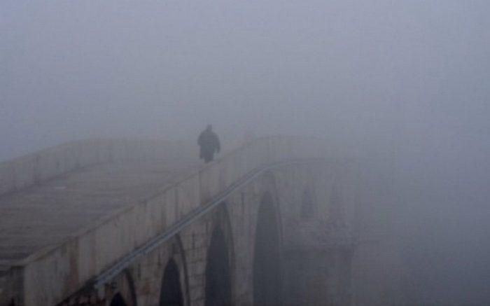 Магла утринава има во Скопје, Тетово, Куманово, Штип и Демир Капија