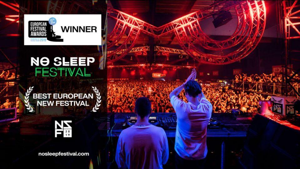 """Нов фестивалски оскар за тимот на Егзит: """"No Sleep"""" е најдобар нов фестивал во Европа!"""