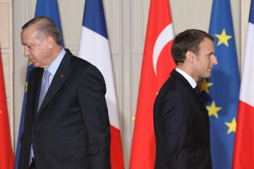 Франција поради изјавата на Ердоган го повлекува амбасадорот од Турција