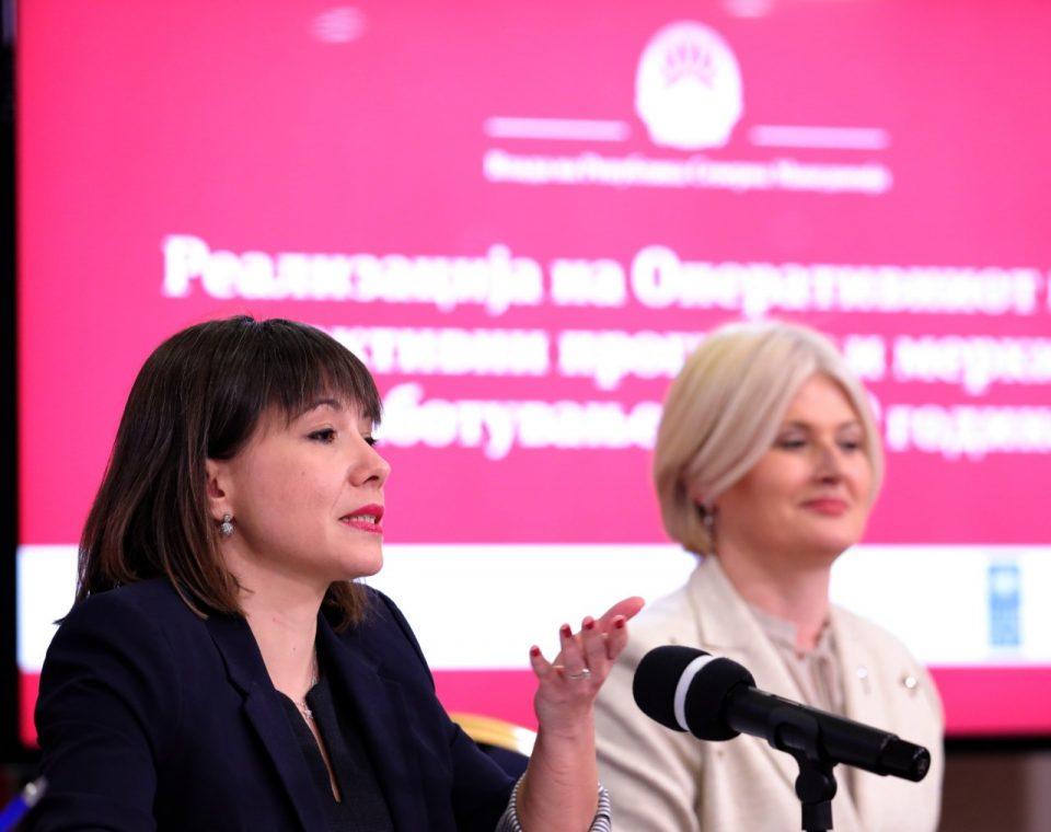 Царовска: Во две и пол години се вработиле 59.600 лица