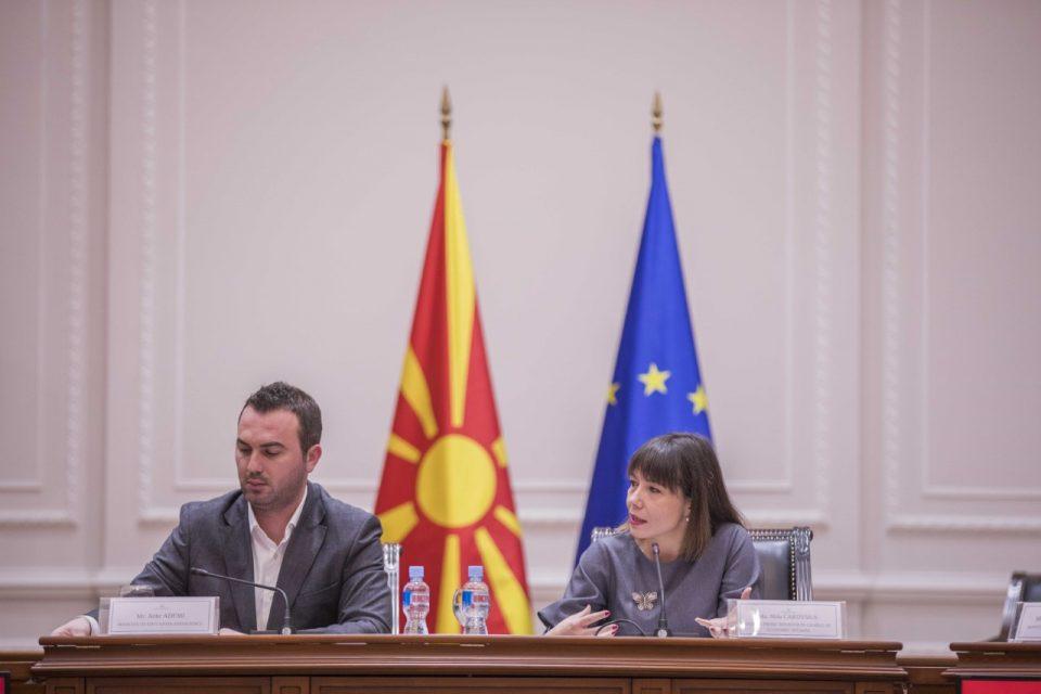 Царовска: Tенденција на Владата е да се создаде соодветен концепт на дуално образованиe