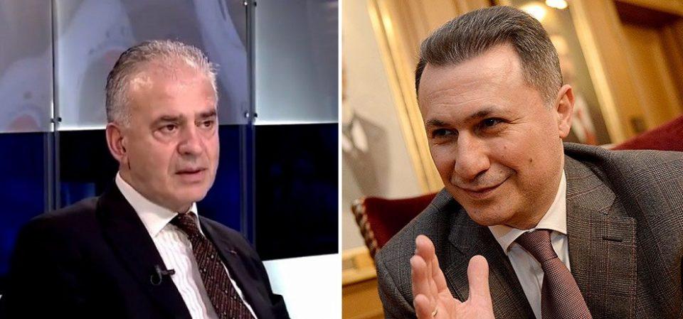Груевски: Нано Ружин е дилајла што во Букурешт тврдеше дека влеговме во НАТО