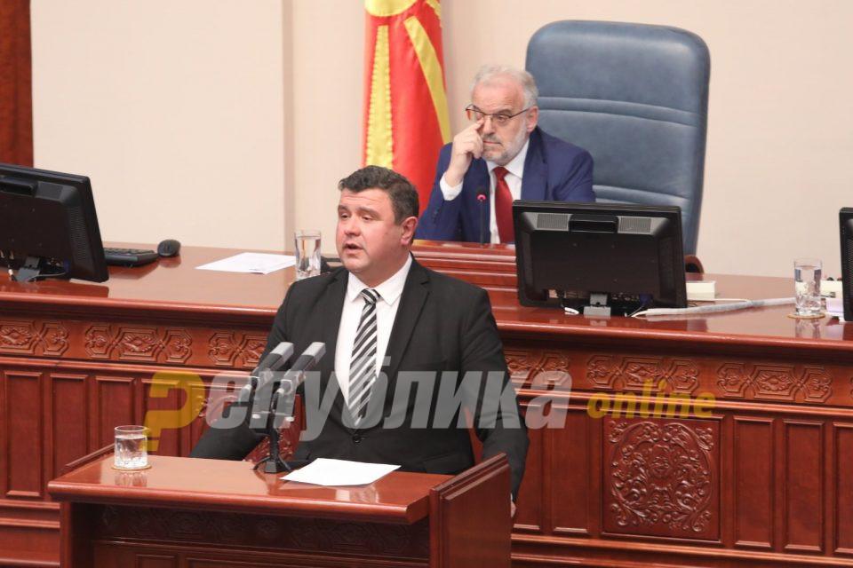 Координаторот на ВМРО-ДПМНЕ јасен: Ќе присуствуваме само на седницата за антикризните закони
