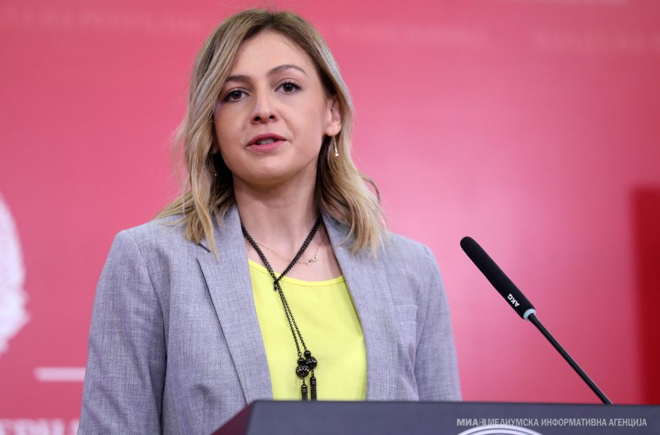 Ангеловска: Буџетот е во добра кондиција