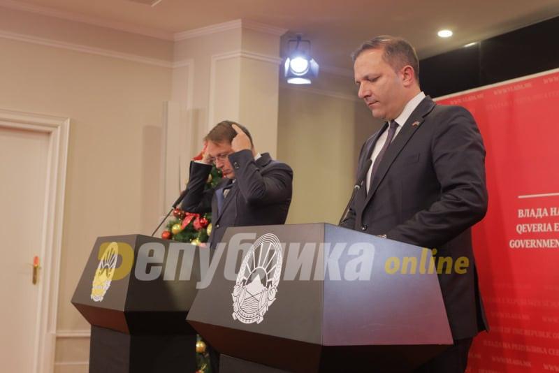 Вархеји во писмо до Спасовски: Определивме првична финансиска помош и ги утврдуваме начините за ублажување на социо-економските последици од кризата со коронавирусот