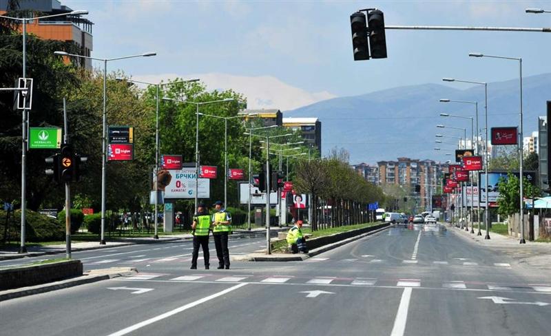 Изменет сообраќаен режим низ Скопје поради Водици