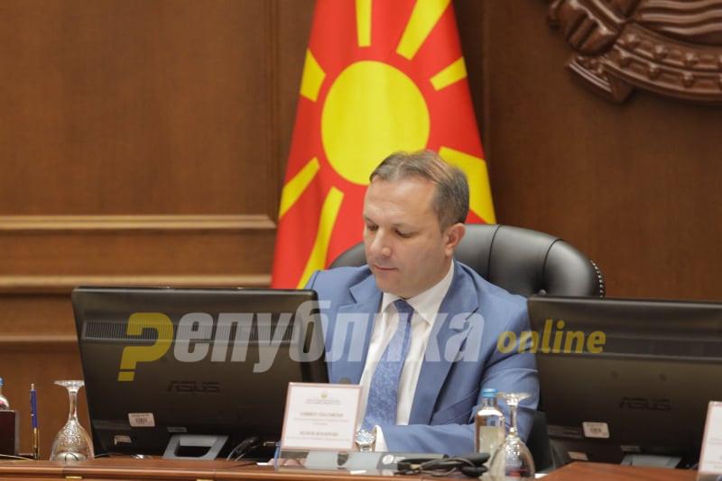 Техничкиот премиер Спасовски го честита Богојавление Водици