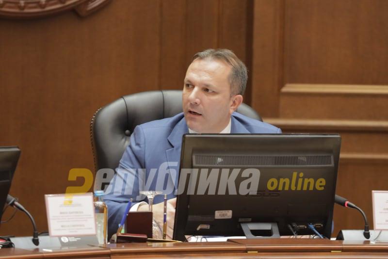 Рускоска не дозволи Спасовски да биде прашан дали ја поддржувал Шарената револуција