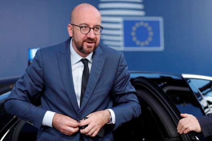 Претседателот на Европскиот совет Шарл Мишел во посета на земјава