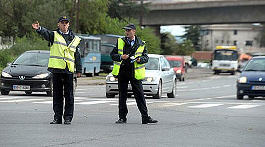 Посебен сообраќаен режим денеска во Скопје