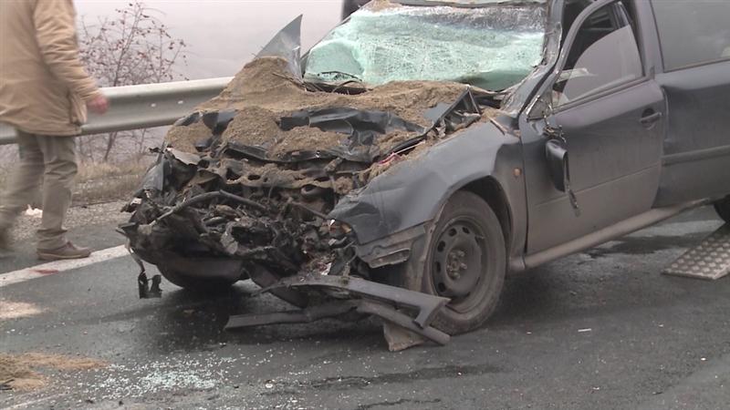 Почина жената која беше тешко повредена во верижниот судир на автопатот Велес-Скопје
