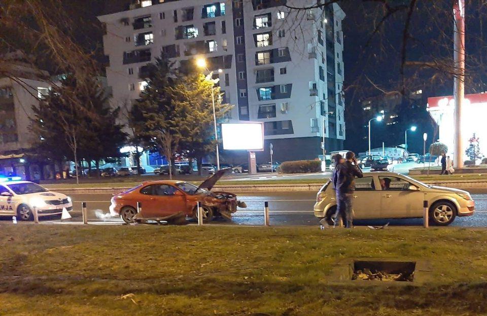 """Тешка сообраќајка на """"Партизанска"""""""