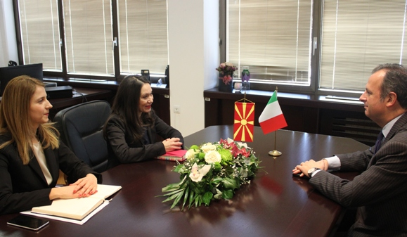 Италија секогаш била еден од нашите главни поддржувачи на патот кон ЕУ